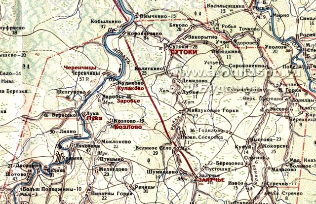 подробная карта старорусского